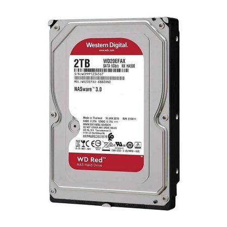 Disco Duro Western Digital Caviar Red 2TB/ 3.5'/ SATA III/ 256MB