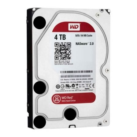 Disco Duro Western Digital WD Red NAS 4TB/ 3.5'/ SATA III/ 256MB