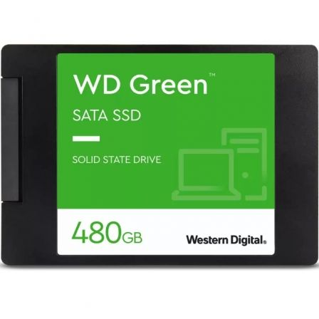 Disco SSD Western Digital WD Green 480GB/ SATA III